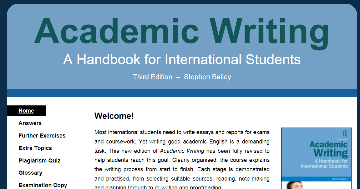 academic writing resources We are dedicated to fostering academic excellence and are driven by the philosophy that students working with students promotes academic and personal success academic programs & services academic success and strategic learning resources.