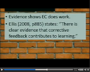Screen shot of Chris Smith's slides: Ellis' quote