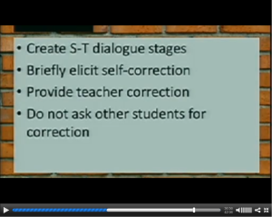 Screen shot of Chris Smith's slides